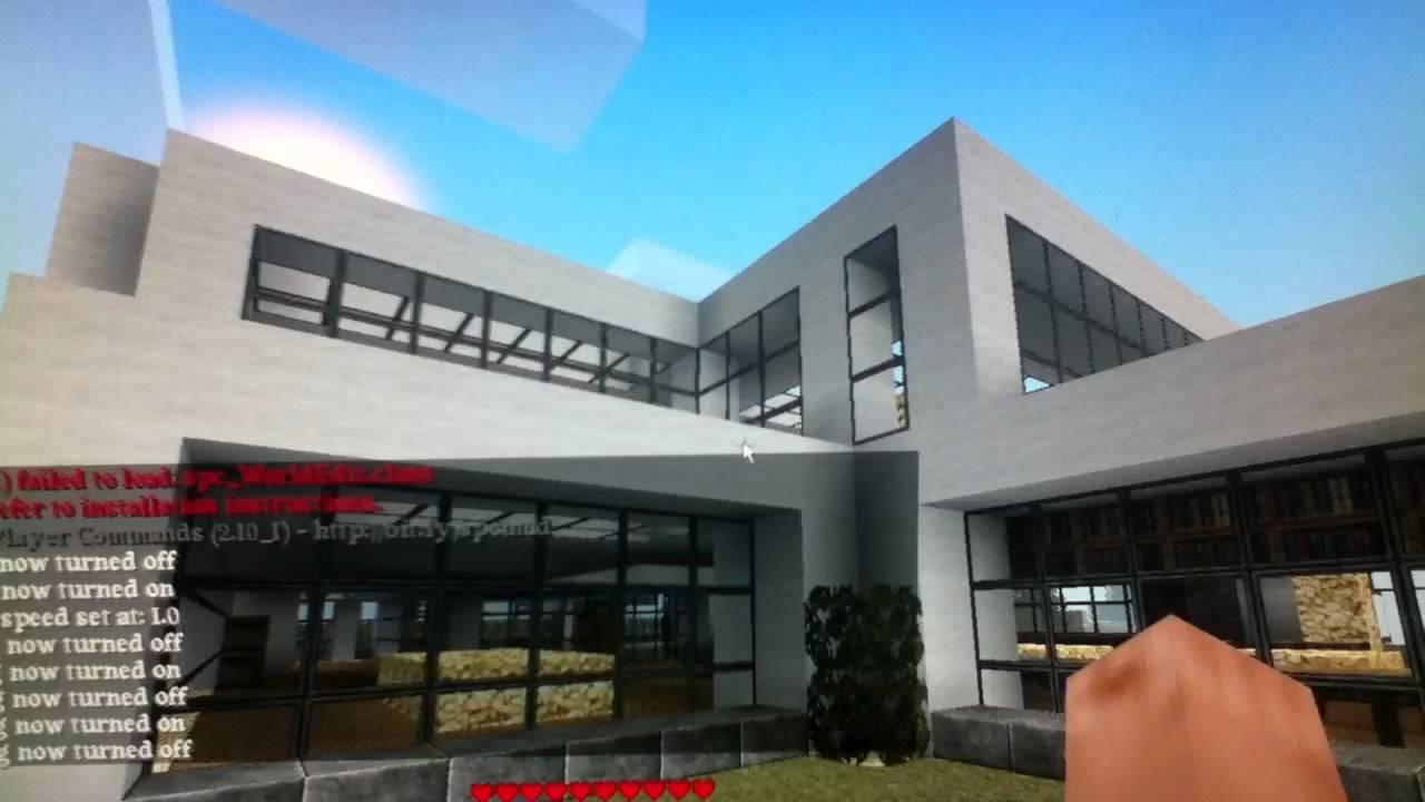 Minecraft luxus Haus - YouTube