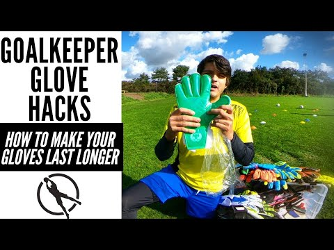 5 Goalkeeper Glove Hacks : Make Your Gloves Last LONGER!