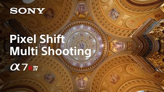 Sony | α |  α7R IV | Pixel Shift Multi Shooting 16-image composite