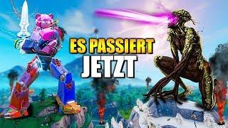 IT PASSES MAINTENANT 🔥😱 Robot Vs Monster Live Event à Fortnite (fr) Allemand
