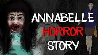 Annabelle Comes Home: CONJURING DOLL Horror Stories Animated || Kriti not Annabelle