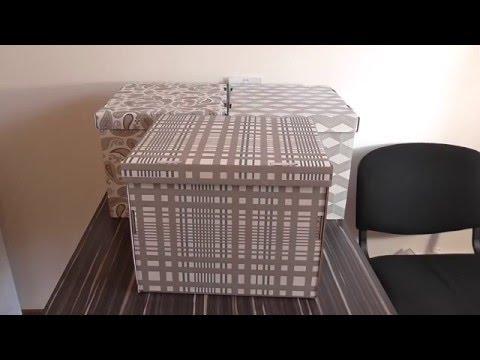 Коробка с крышкой IKEA SMEKA.
