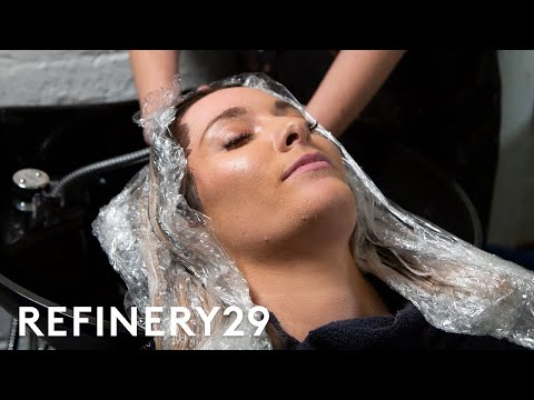 This Mushroom Brown Hair Transformation Is Super Relaxing | Hair Me Out | Refinery29