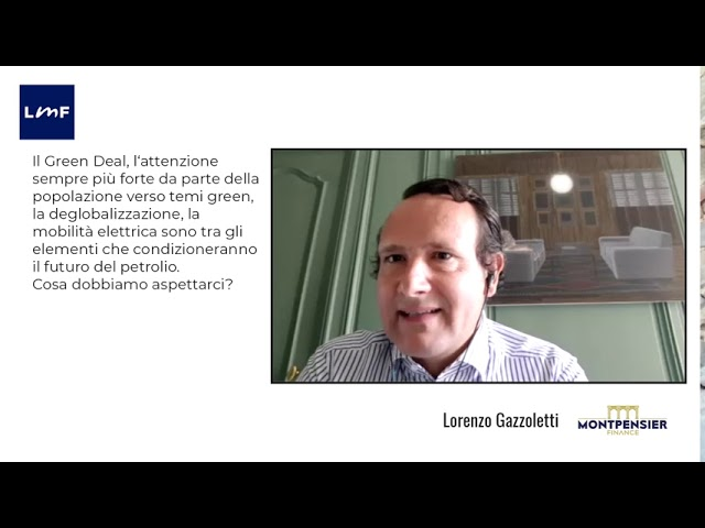Il futuro del petrolio - Lorenzo Gazzoletti (Montpensier)