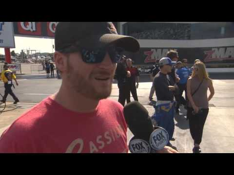 Dale Earnhardt Jr. gets his NHRA Nitro fix in Charlotte