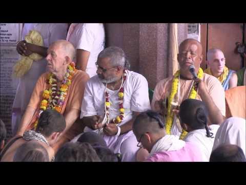 HG Agnidev Prabhu sings Gauranga Bolite Habe