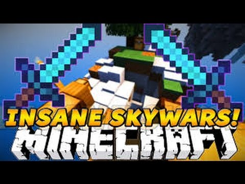 Minecraft: CRAZY Skywars LIVE - THE INSANE HACKERS RETURN!!! w/AuroraGaming2B2