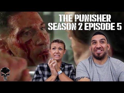 The Punisher Season 2 Episode 5 'One-Eyed Jacks' REACTION!!