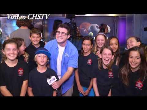 Paws on News Visits CHSTV 2016 - YouTube