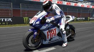 MotoGP 19 - Yamaha YZR-M1 2010 - Test Ride Gameplay (PC HD) [1080p60FPS]