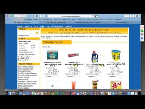 Bruce Mack DEMOS Grocery Savings Card Travel Agent Incentive