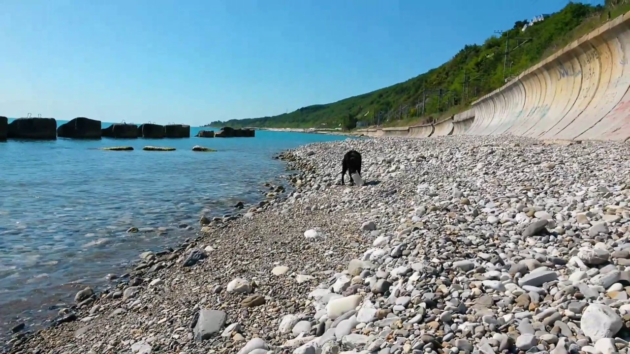Фото диких пляжей лазаревского