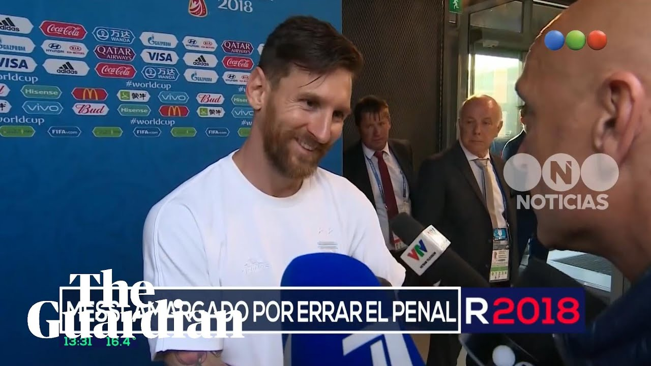 Lionel Messi reveals he wore reporter's lucky charm for World Cup win –  video