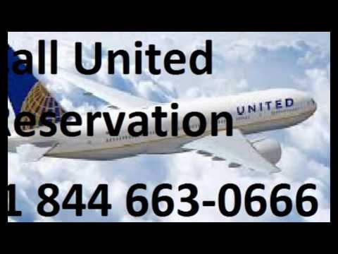 United Airlines INTERNATIONAL BOOKINGS +1844 663-O666