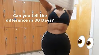 WEIGHT LOSS UPDATE #10 | 30 Days Being Vegetarian!