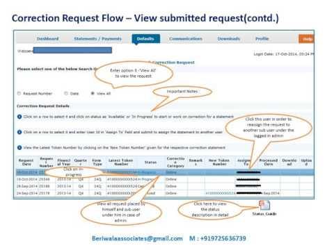 tds-online-correction-overbooked-challan-movment-of-deductee-row
