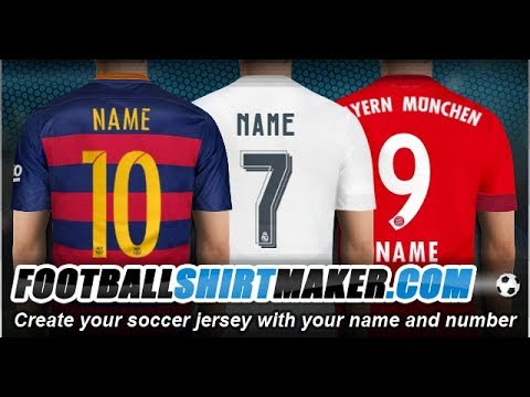 Football shirt maker
