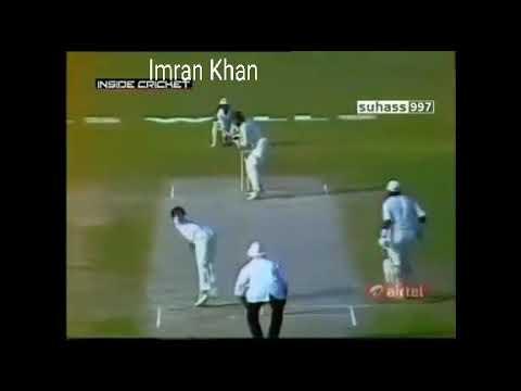 Master of Swing Bowling - Manoj Prabhakar  Brian Lara Imran Khan Sharjah clean bowled