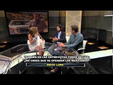 Adela entrevista a Diego Luna y Will Ferrel