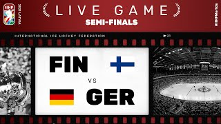 Finland – Germany | Live | SEMI-FINAL | 2021 IIHF Ice Hockey World Championship