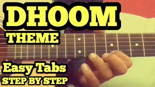 dhoom-theme-guitar-lesson-easy-for-beginners-fuzail-xiddiqui