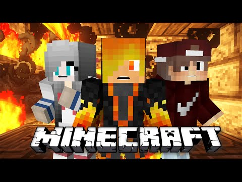 Minecraft: Burning House w/Moon, Cà Rốt - Thử thách đổi Avatar Facebook