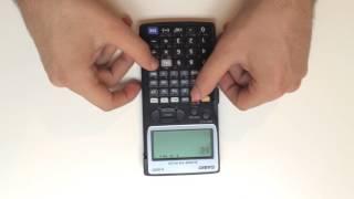 Unboxing Casio Hesap Makinesi: Casio fx-5800P