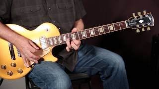 Blues Soloing Guitar Lesson with Session Master Tim Pierce, Mixing Major and Minor