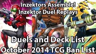 Inzektor Duels and Deck List - Octobert. 2014 TCG - Offensive Budget Deck