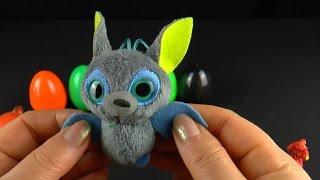 Винни Телепузики Животные Открываем много игрушек Киндер сюрприз