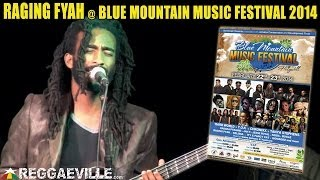 Raging Fyah - Jah Glory @ Blue Mountain Music Festival 2014