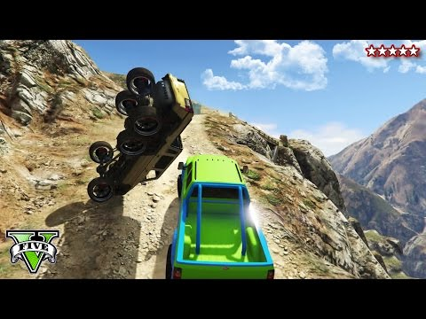 GTA 5 OFF-ROADING & ROCK CRAWLING! - CUSTOM 4X4 Trucks GTA 5 - Grand Theft Auto 5 Funny Moments