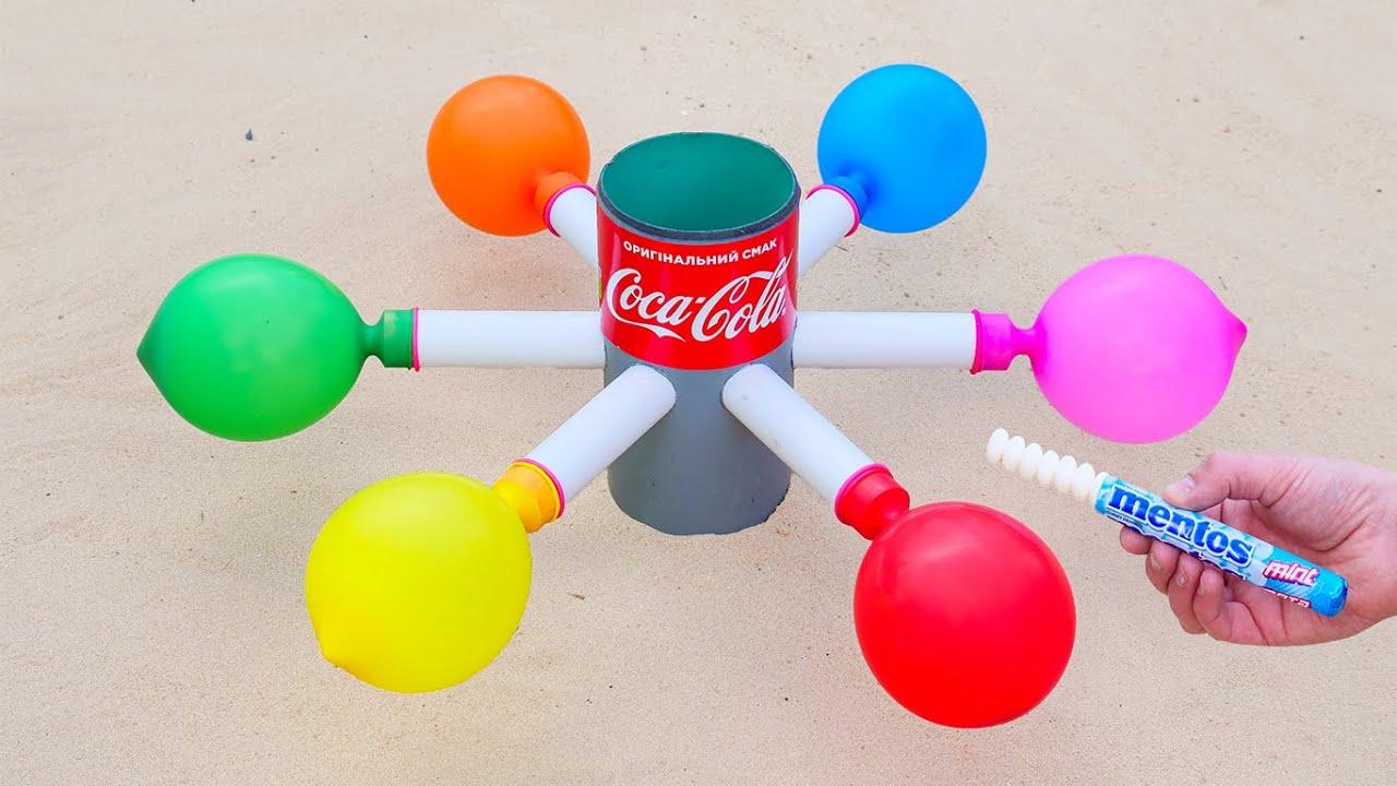 Эксперимент: Coca Cola VS Mentos