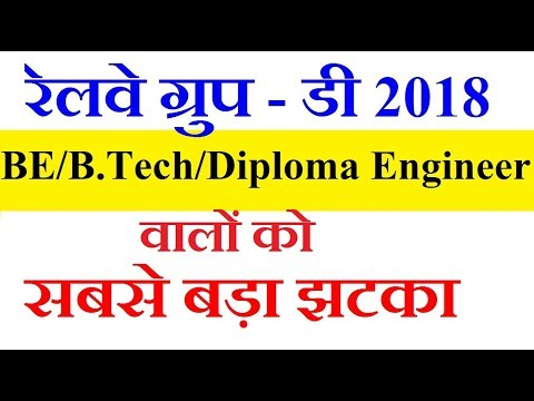 Group D Post for B.tech / BE / Diploma Engineer not eligible for Technical Post from Cat 01-23