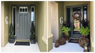 Fall 2018 Sneak Peek and Front Door Makeover