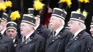 """Steigerlied: """"Glück auf der Steiger kommt"""" Spardosen-Terzett mit dem MGV Concordia"""