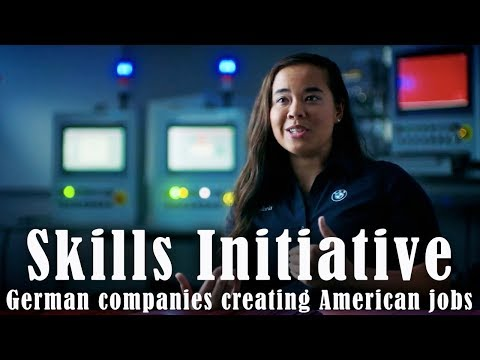 Skills Initiative: German Companies Creating American Jobs