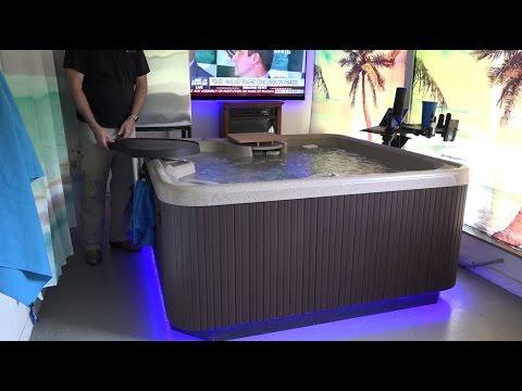 Hotsprings SX Hot Tub Indoor Installation