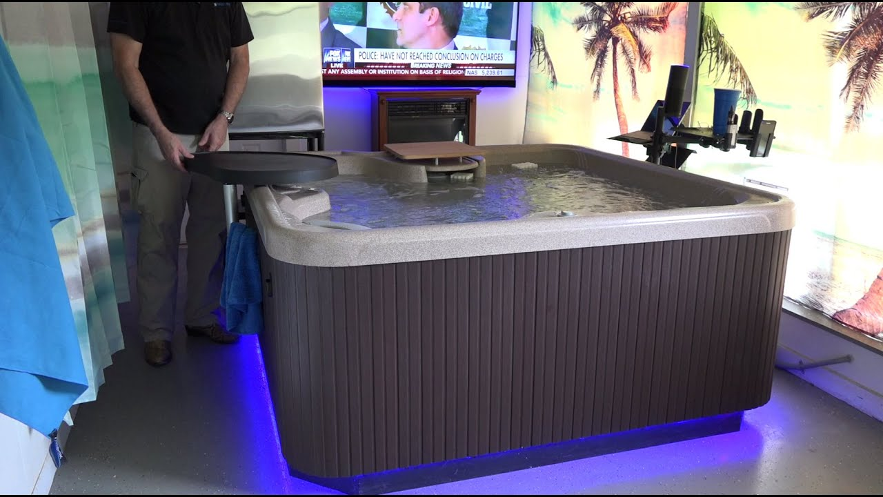 Hotsprings SX Hot Tub Indoor Installation