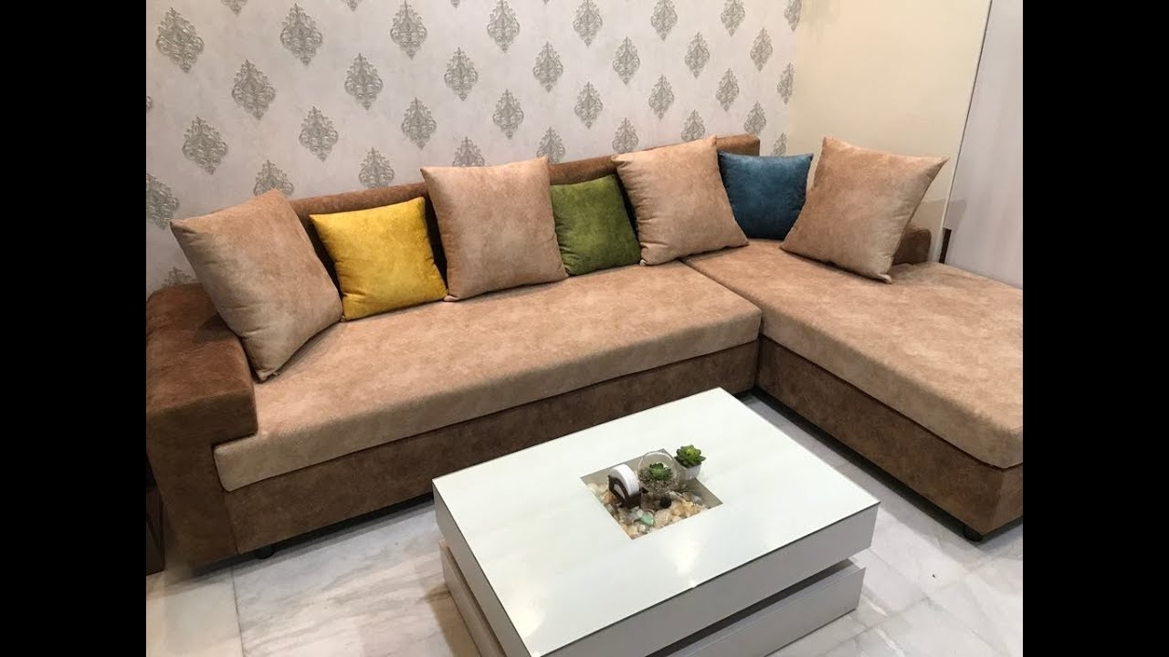 L Shape Sofa Design For Living Room 2019 5 Seated L Shape Sofa Review Youtube