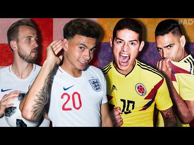 Colombia 1-1 England   ENGLAND WIN ON PENALTIES!!   #TheFootballSocial
