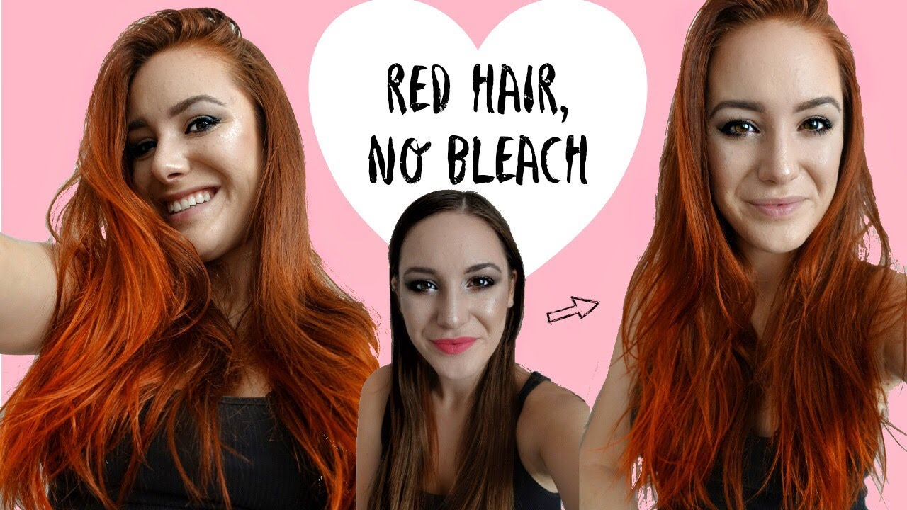 How To Dye Hair Red Without Bleach Arctic Fox Vegan Hair Dye
