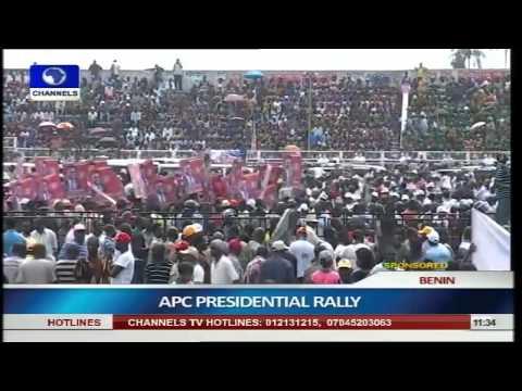 Buhari Woos Benin Indigenes For Votes pt 1