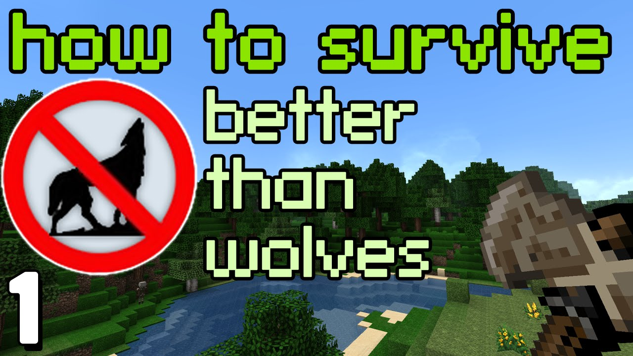How To Survive In Better Than Wolves Hardcore Minecraft Day 1 Three Way Switch