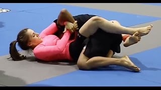 Mixed NoGi Grappling:  Erin Blanchfield Armlock - GQ 2012