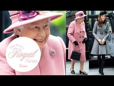 エリザベス女王とキャサリン妃、初の2ショット公務 | Royal News | 25ans
