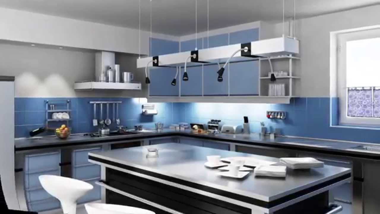 Moderne küchen design - YouTube