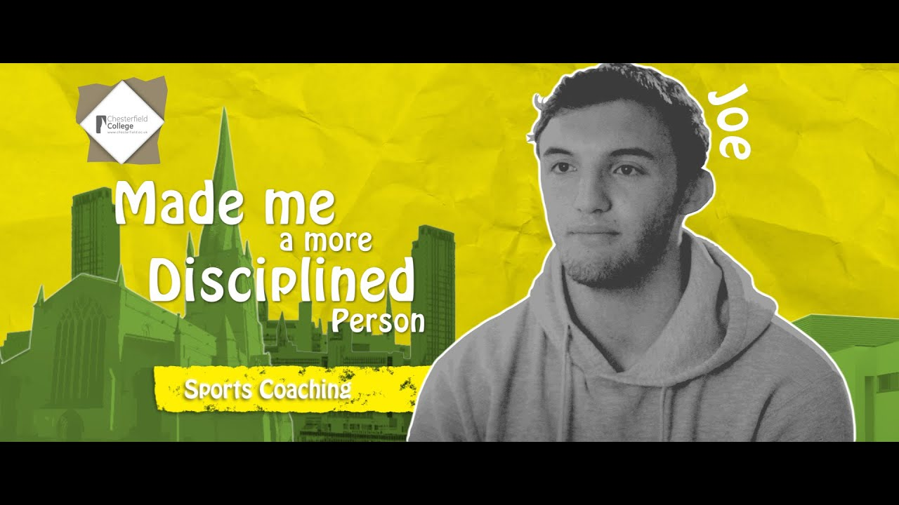 Joe - Chesterfield College - Sports Coaching