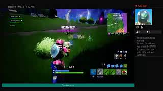I play fortnite to try to get a win
