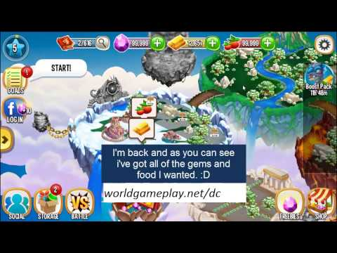Dragon City Hack Unlimited Gems and Food ♦ FAST Gems and Food in Dragon City Tutorial